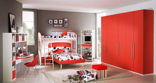 red-Teenage-Boys-Rooms