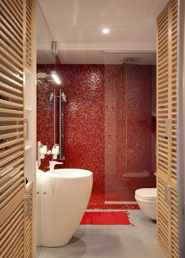 small-bathroom-apartment-red-small-tiles-mosaic