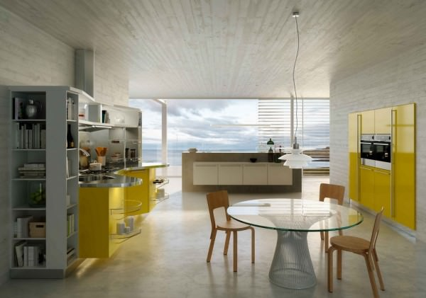 snaidero-colorful-kitchen-design