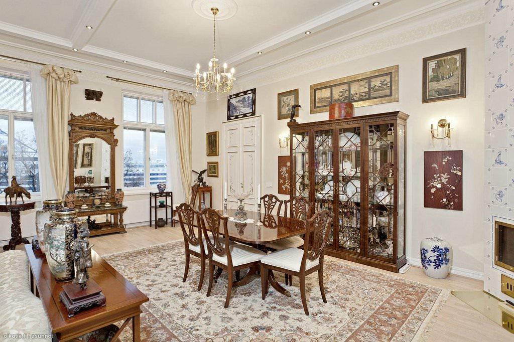 sufragerie apartament art nouveau