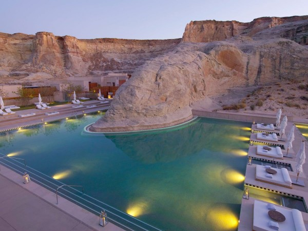 the-amangiri-resort-in-utah-sits-600-acres-inside-canyon-point-and-its-unique-pool-offers-magnificent-views-of-the-surrounding-canyons-and-plateaus