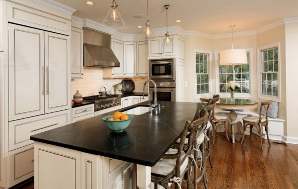 traditional-open-space-kitchen-american-style
