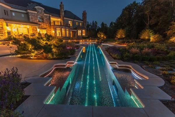 piscina forma vioara