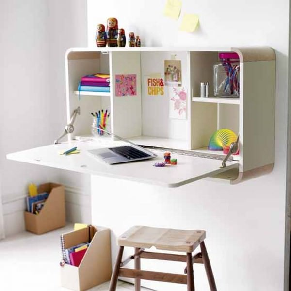 wall-mounted-children-desk