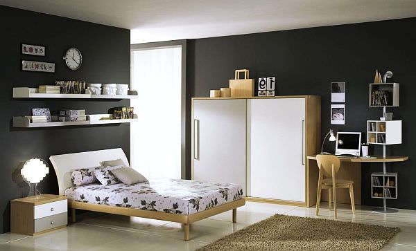 white-grey-Teenage-Boys-Rooms
