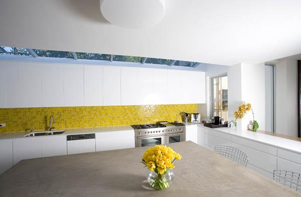 white-kitchen-design-with-yellow-tiles