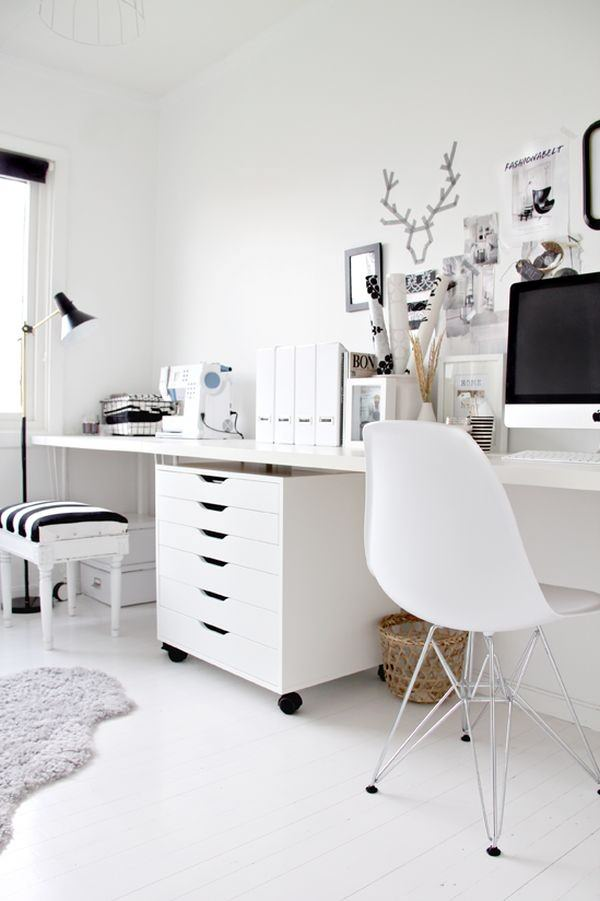 white-office-room
