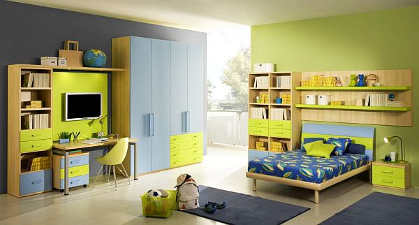 yellow-blue-Teenage-Boys-Rooms